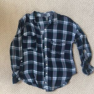 Light/thin flannel